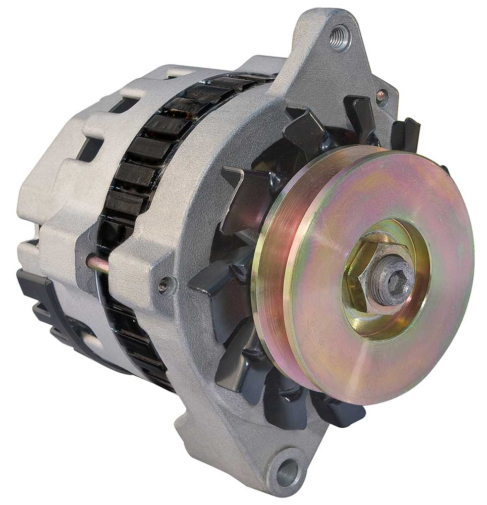 Delco 100 Amp. One Wire Delco Race Alternator.
