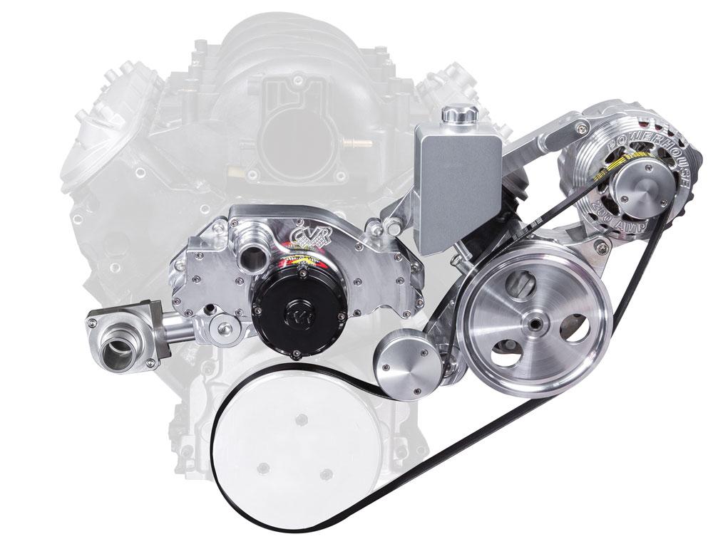 Belt Drive Kit For Electric Water Pump Cvr High