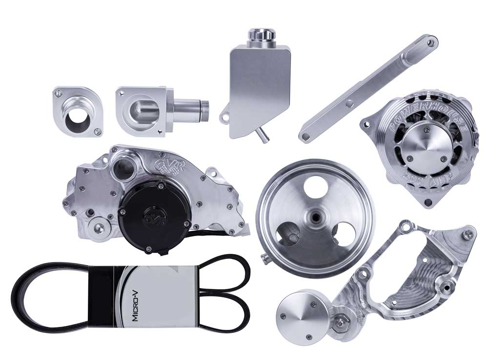 belt drive kit for electric water pump