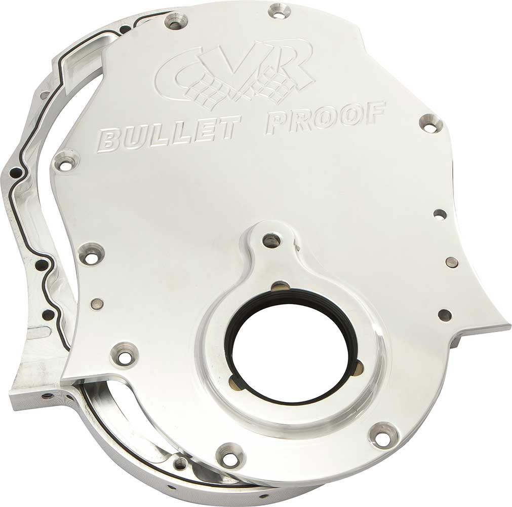 BB Chevy timing cover – Clear   CVR High Performance Racing